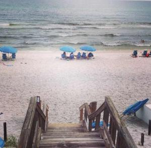 august - seaside